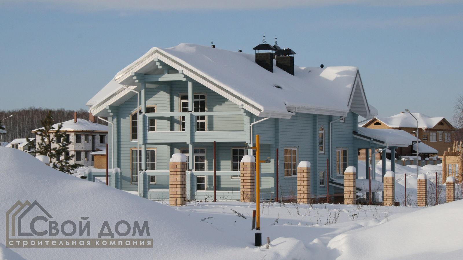 Проект дома 319м2