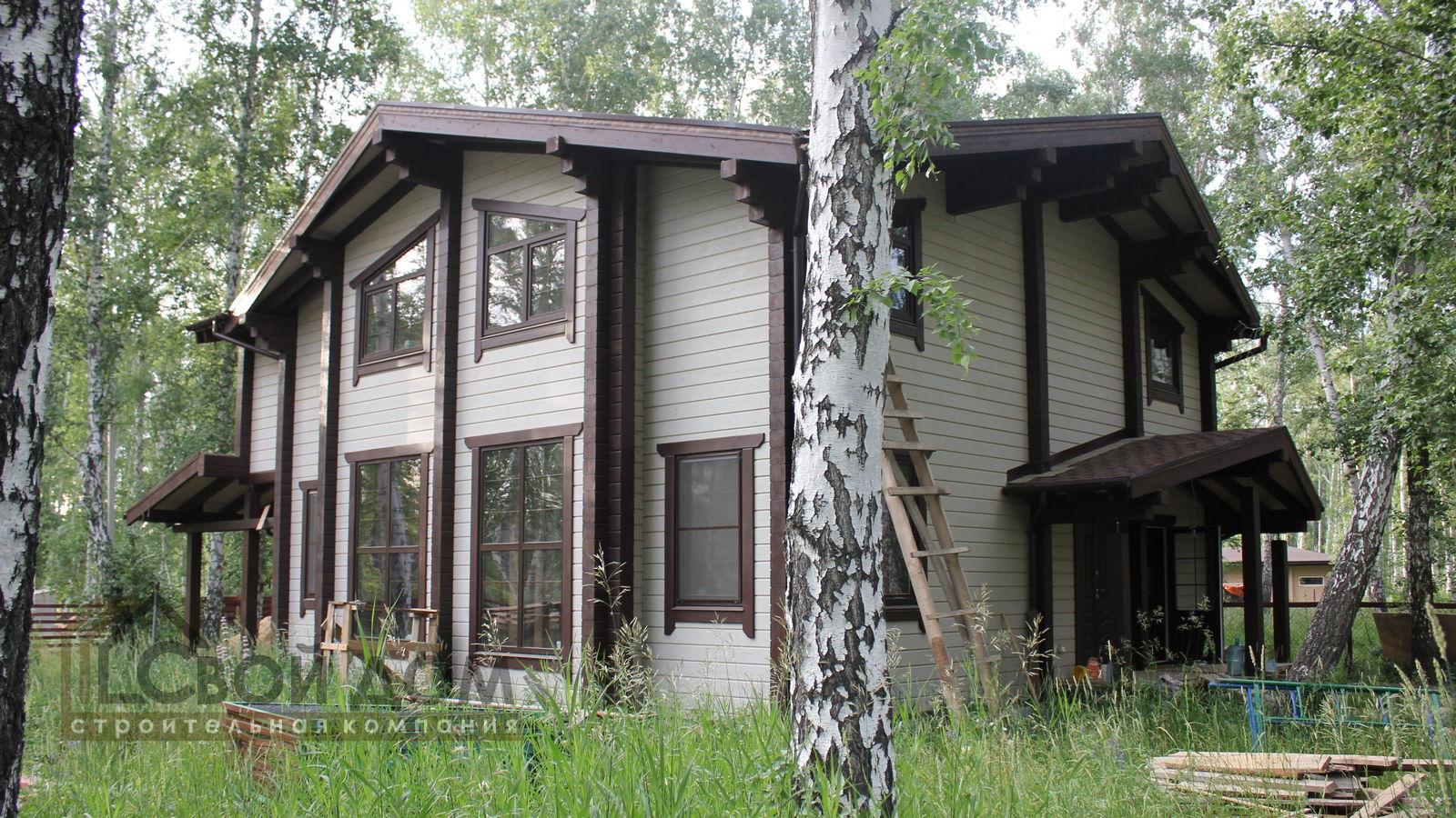 Проект дома 264м2