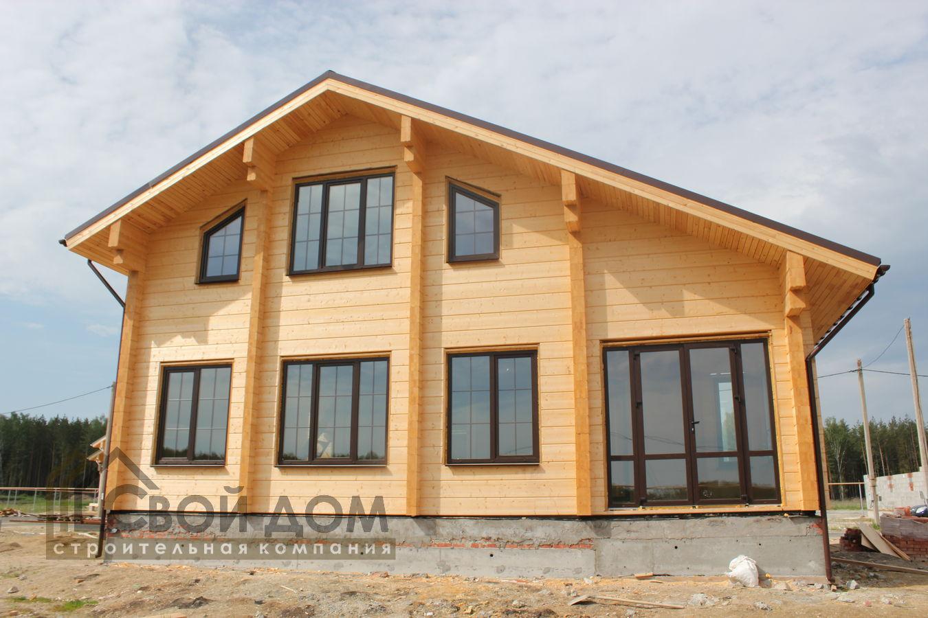 Проект дома 199м2