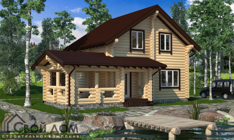 Проект дома 129м2