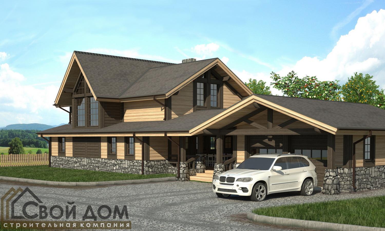 Проект дома 294м2