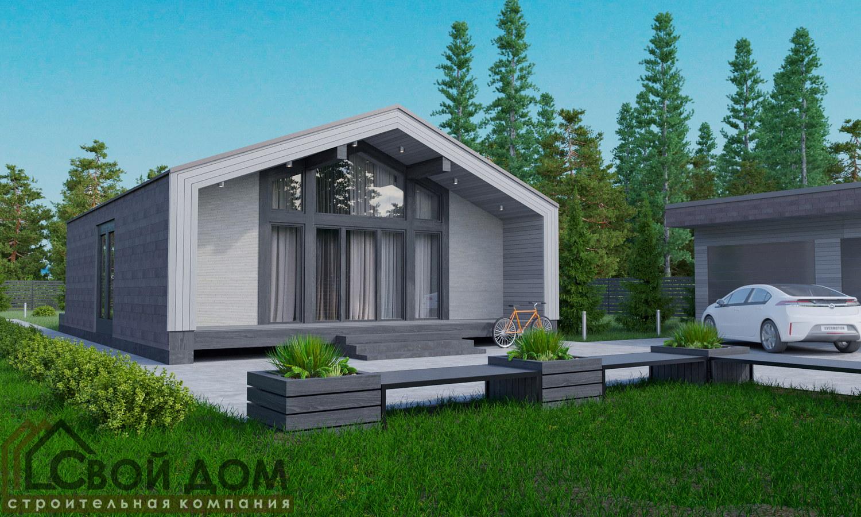 Проект дома 128м2