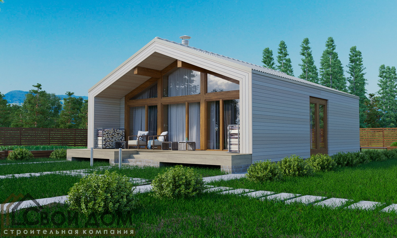 Проект дома 130м2