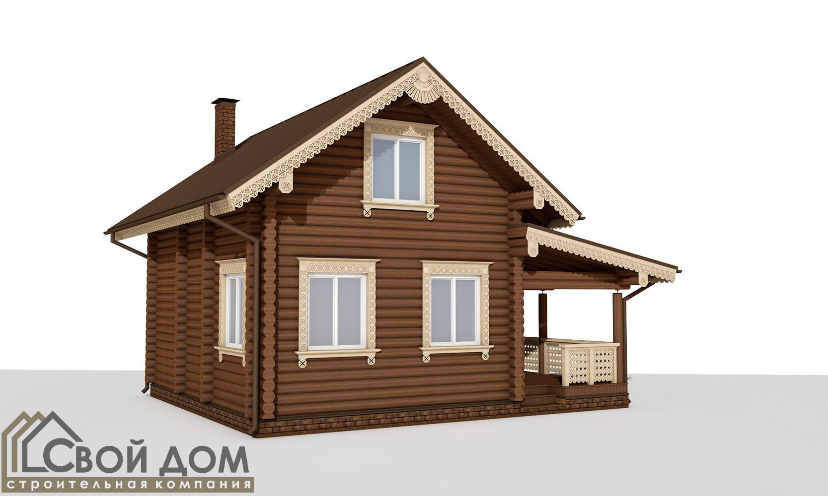 Проект дома 102м2