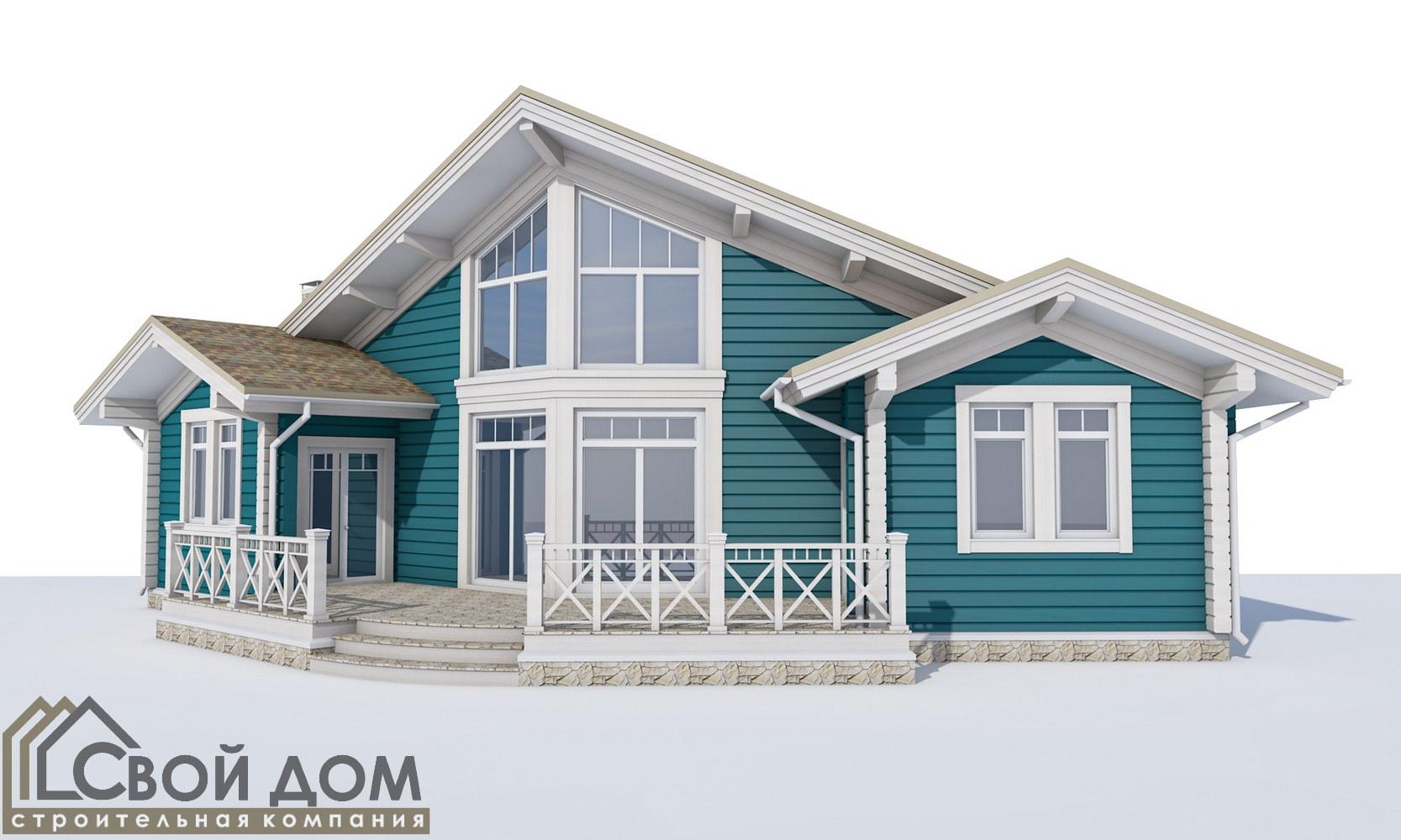 Проект дома 137м2