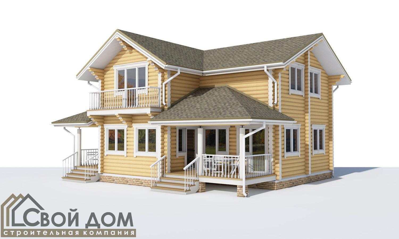 Проект дома 159м2