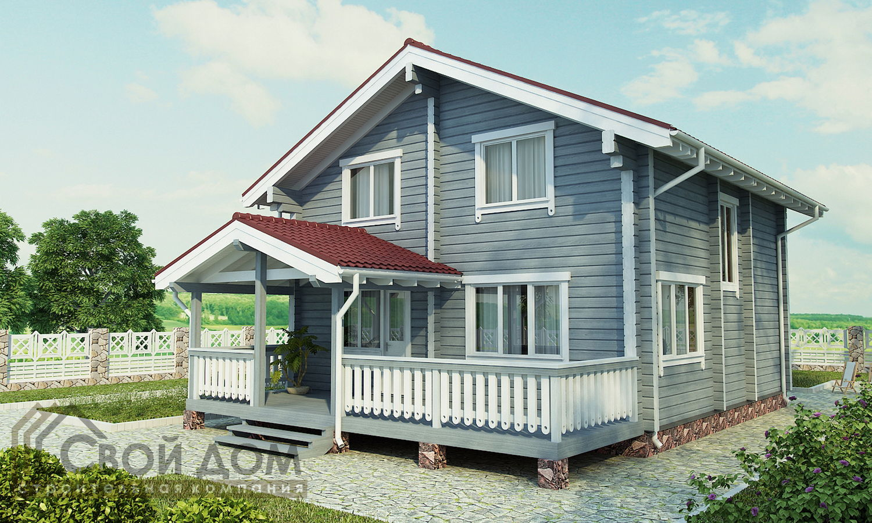 Проект дома 179м2