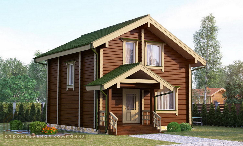 Проект дома 124м2