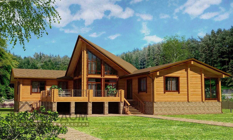 Проект дома 500м2