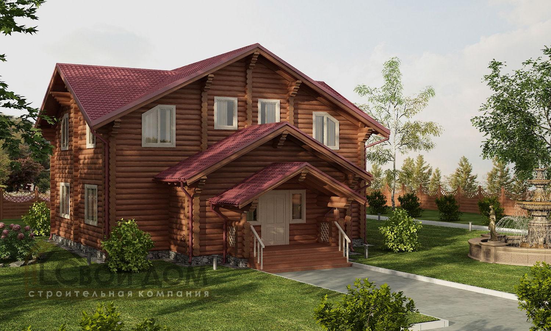 Проект дома 286м2