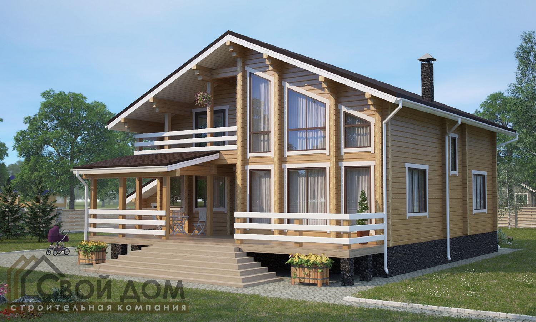 Проект дома 377м2