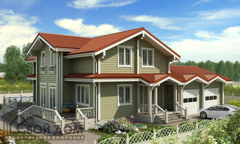 Проект дома 369м2